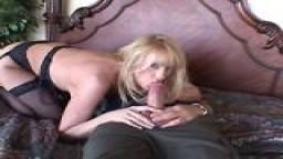 Wife Beth Slurping a Big Cock