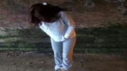 Stripping uk amateur Holly Kiss flashing