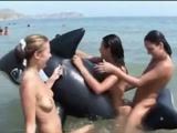TEENS AT NUDE BEACH