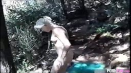 Teen Forest Sextape