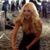 Jesse Jane Goes Wild on the 2014 AVN Awards Red Carpet
