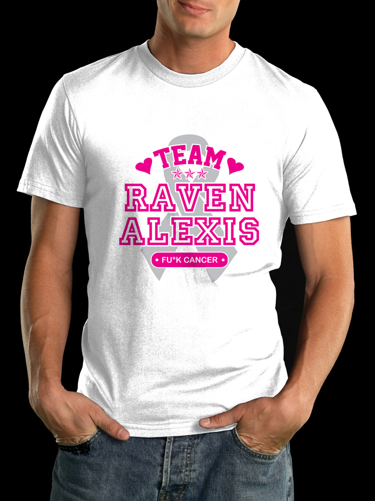 Raven Alexis Fuck Cancer Tees
