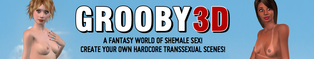 Grooby Partners with ThriXXX to Launch 1st 3D Shemale Site