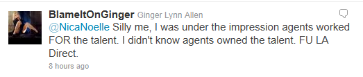 Ginger Lynn Not With LA Direct