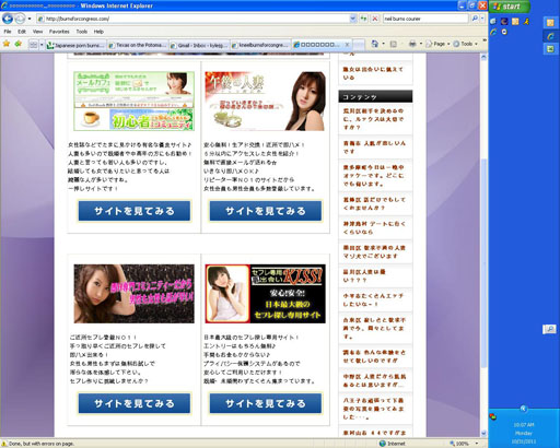 Japanese porn site grabs web address sought by Texas congressional candidate