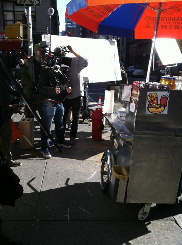Nina Mercedez Shoots Ad For .XXX