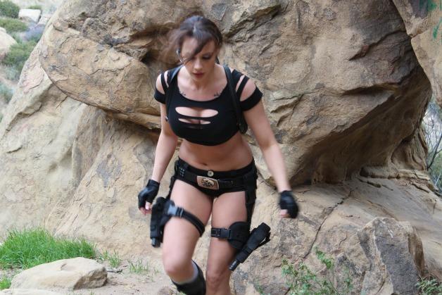 Chanel Preston Stars as Lara Croft in Exquisite Films'  Hottest Parody Yet!