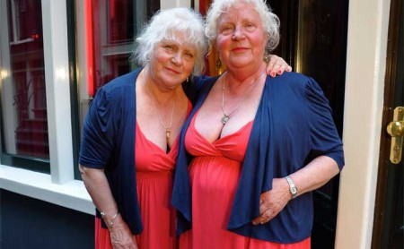 fokken 450x278 Meet The Fokkens: Identical Twin Sister Prostitutes, 69, Star In Documentary