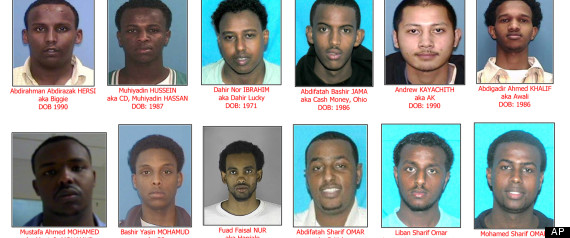 Tennessee Somali Sex Trafficking Case Split Verdict: 3 Convicted, 6 Acquitted
