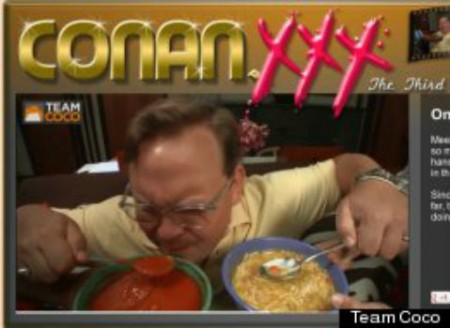 andy 450x328 Conan OBrien Launches dot XXX Site