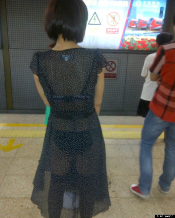 Don't Dress Sexy To Ride Shanghai Subway