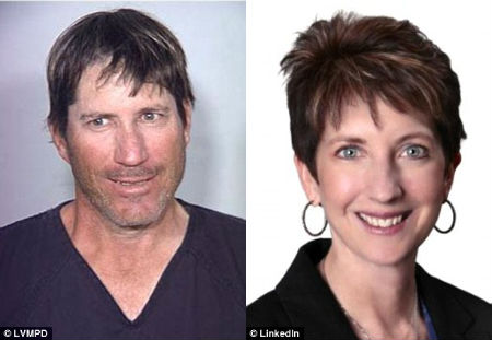 Match made in hell: Wade Ridley, left, met Mary Kay Beckman, right, on Match.com in 2010, but when she broke up with him eight days later, he turned violent and nearly killed her four months later.