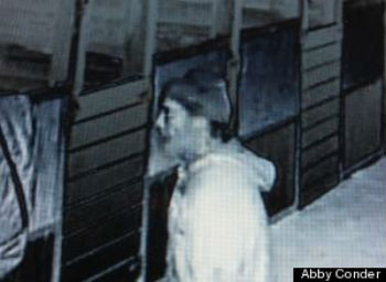 Video still of possible suspect