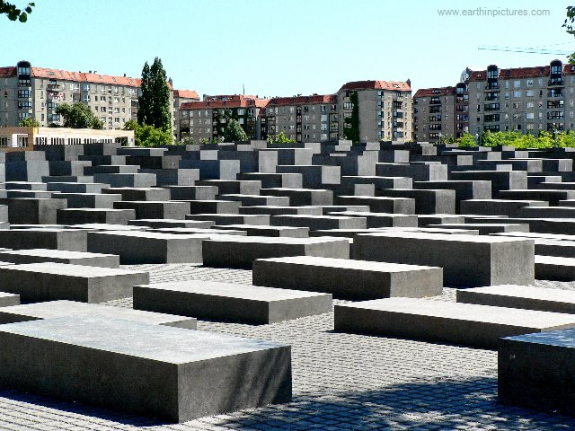 Grindr Users Taking Profile Photos At Berlin Holocaust Memorial