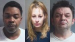 Sex Trafficking Suspects: Keith Williams, Sylvia Topolewski, Roman Kurek. Officials say Schiller Park man and his associates recruited young homeless women and forced them to perform sex acts for profit.
