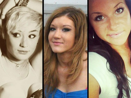 Raven Cassidy Furlong [17], Kara Nichols [19], Kelsie Schelling [22]