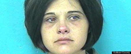 Crystal Frantzen, 28, has been charged with prostitution.