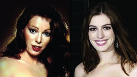 Anne Hathaway and Annette Haven