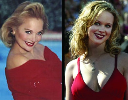 Thora Birch and Carol Connors