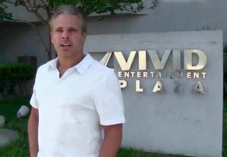 Steve Hirsh, with Shelley Lubbens Graffiti behind him