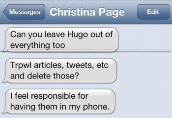 had them in my phone 350x239 HugoLeaks: Male Feminist Hugo Schwyzer's Sexting Scandal Exposed (NSFW)