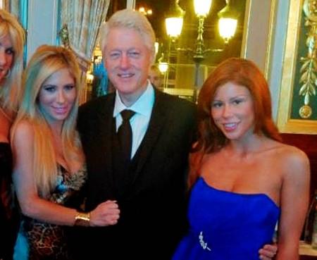 Bill Clinton and Brooklyn Lee