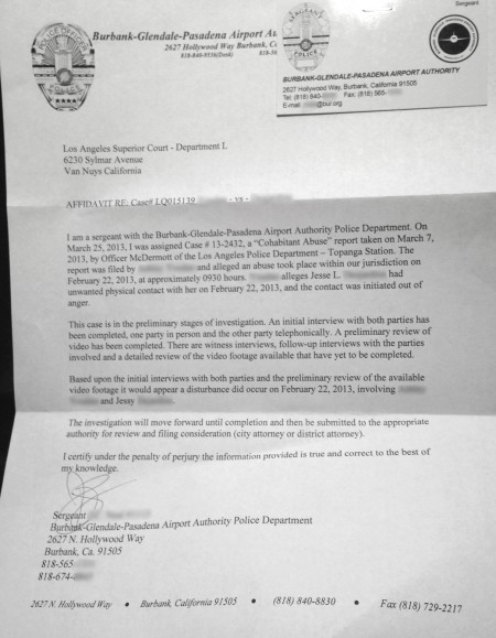 Police Sgt letter-redacted