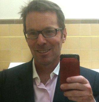 Hugo Schwyzer selfie