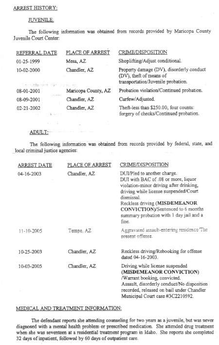 1999 2005 Arrest History 450x708 Would Cameron Bay Lie?   Fallout From Todays AHF Press Conference