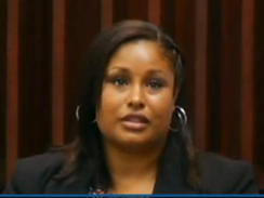 Ethel Anderson, 31-year-old former elementary school teacher in Fla. said the sexually explicit messages she sent to a 12-year-old student were intended to help the boy improve in school. / CBS affiliate WTSP