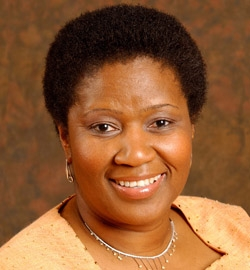 Phumzile Mlambo-Ngcuka, head of U.N. Women