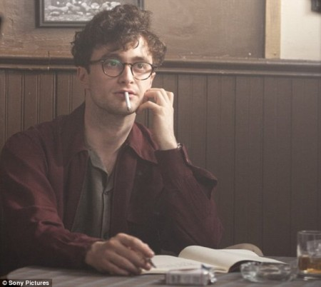 Glasses: Daniel got bespectacled again to portray Allen Ginsberg in Kill Your Darlings..