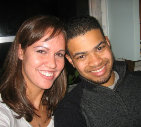 [Courtesy of Ryan Seay] Holly Jacobs and Ryan Seay in happier times.