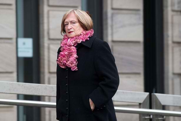 Isabella Qazi at the Sheriff Court Glasgow