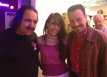 Ron Jeremy, Melissa Hill& Michael Whiteacre