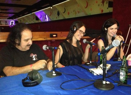Ron Jeremy, Sam Phillips and Kendall Karson live on Vivid Radio