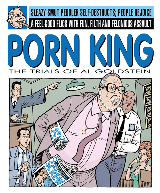 porn king final Al Goldstein, Iconic Publisher of Screw Magazine, Dying in Brooklyn Hospital (UPDATED)