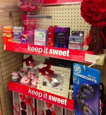 CVS is Selling The Morning After Pill and Handcuffs for Valentine's Day