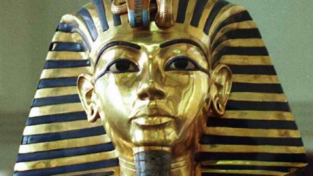 Growing the legend... King Tut's famous mummified erection may have been an attempt to re-focus Egyptian religion. Picture: AFP
