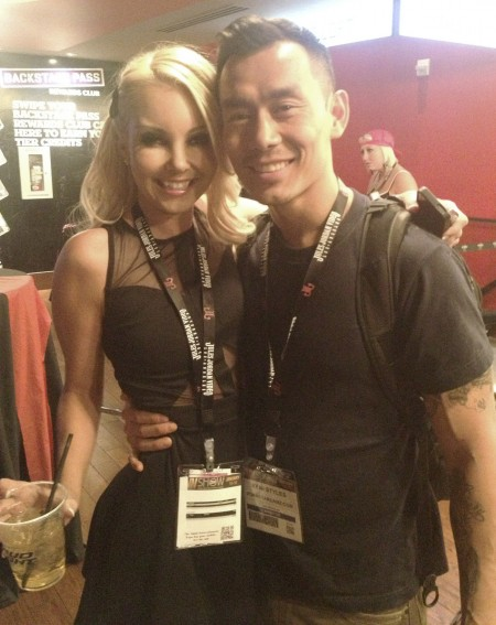 Aaliyah Love and Keni Styles - AVN Adult Entertainment Expo (AEE) - Day Two