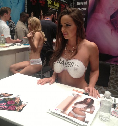 Abigail Mac - AVN Adult Entertainment Expo (AEE) - Day Two