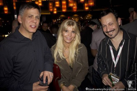 Paul Fishbein, Samantha Lewis and Michael Whiteacre (photo by Rick Garcia/Industry By Rick)