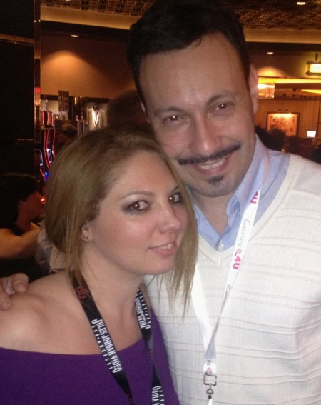 Kiki Daire and Michael Whiteacre - AVN Adult Entertainment Expo (AEE) - Day One