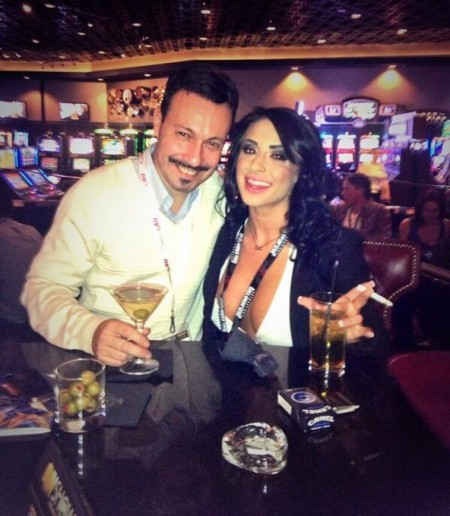Michael Whiteacre & Alexa Aimes - AVN Adult Entertainment Expo (AEE) - Day One