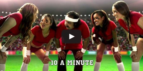 HotMovies 'Not a Superbowl' Commercial: Skin Diamond, Asa Akira, Claire Robbins, Dani Daniels & Ron Jeremy