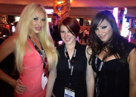 Summer Brielle, Lily Cade and Destiny Dixon - AVN Adult Entertainment Expo (AEE) - Day One (PHOTOS)