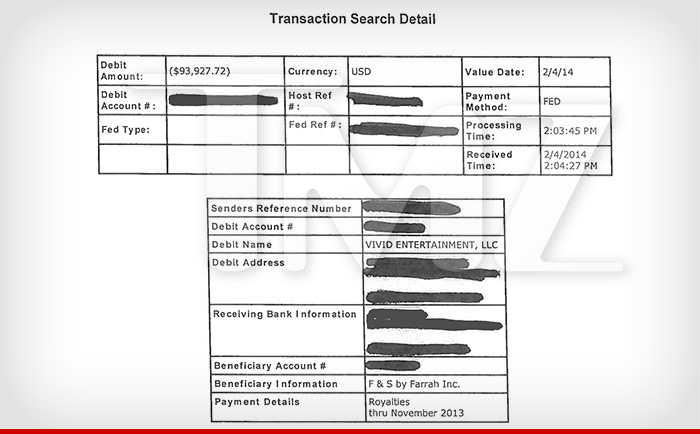 Vivid payments to Farrah Abraham