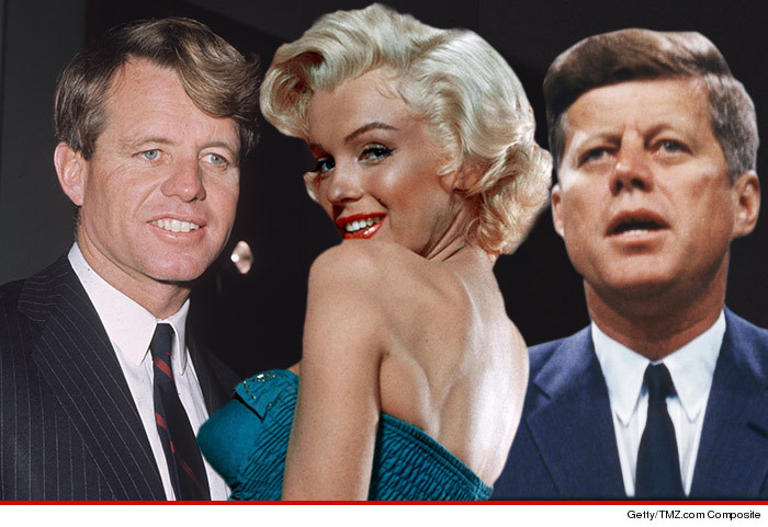 Marilyn Monroe and the Kennedys