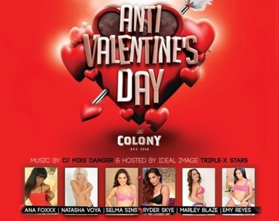 Ideal Image Models Host V-Day Party in Hollywood at Colony