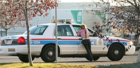 Calgary police are no longer no longer conducting plainclothes operations targeting street-level prostitution, partly because of the Supreme Court ruling striking down Canada's prostitution laws. Photograph by: Leah Hennel , Calgary Herald